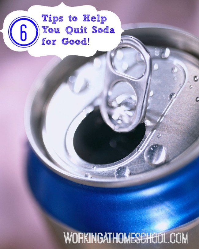 A Guide to Quit Drinking Soda a (no 12-step program required)