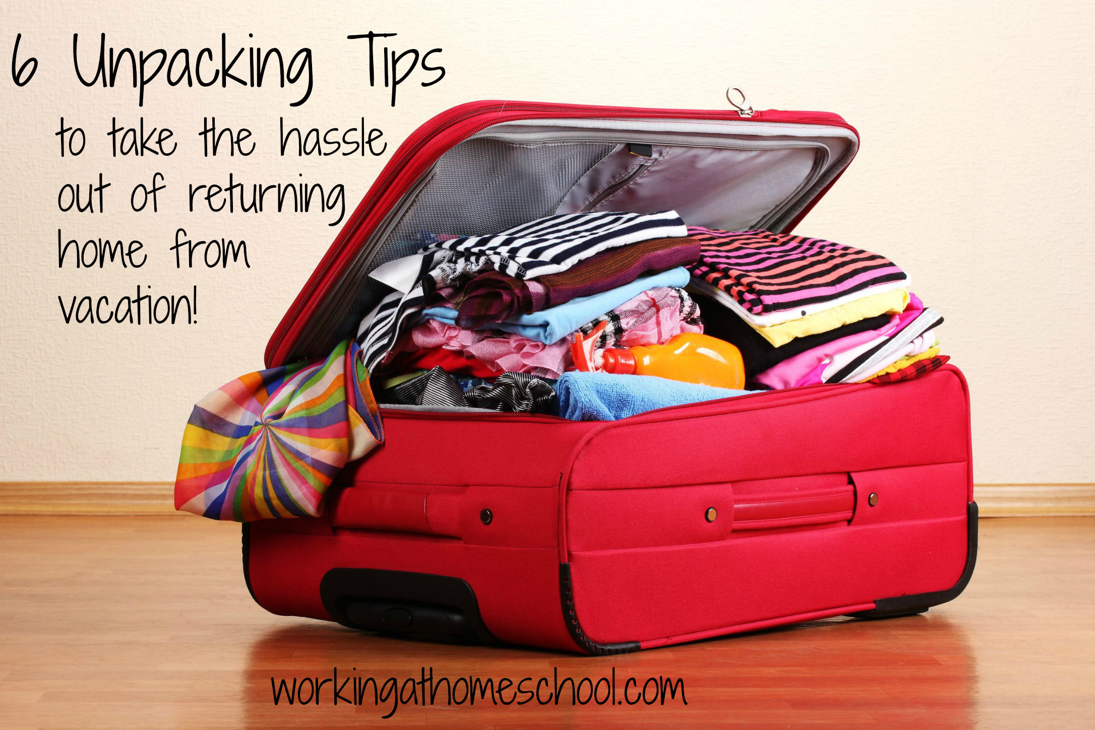 6 Tips for Unpacking Luggage