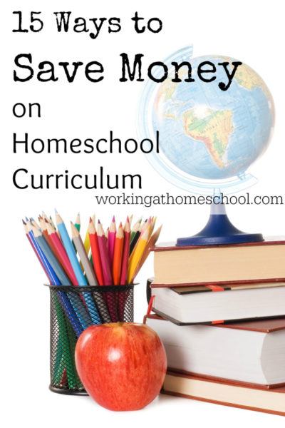 15 Ways to Save Money on Homeschool Curriculum