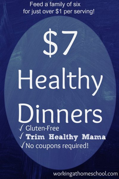Cheap Healthy Meals that work for Trim Healthy Mama!