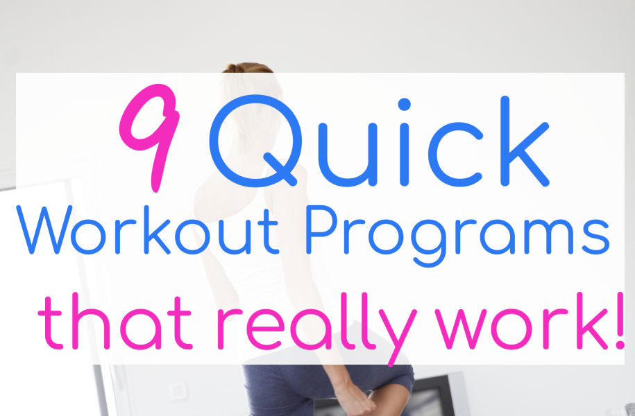 At Home Workouts for Busy Moms - 8 Quick & Effective Programs