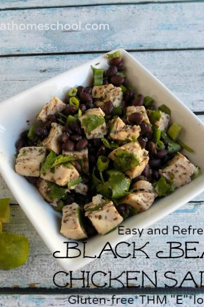 Healthy Black Bean Chicken Salad