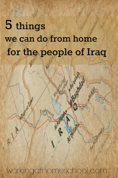 5 things you can do at home to make a difference in Iraq