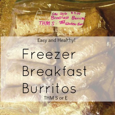 Freezer Breakfast Burritos Trim Healthy Mama Style!