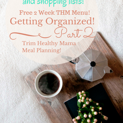 Part 2 – Every Mom's Guide to Getting Organized with Meal Planning
