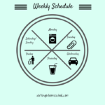Weekly Busy Mom Schedule