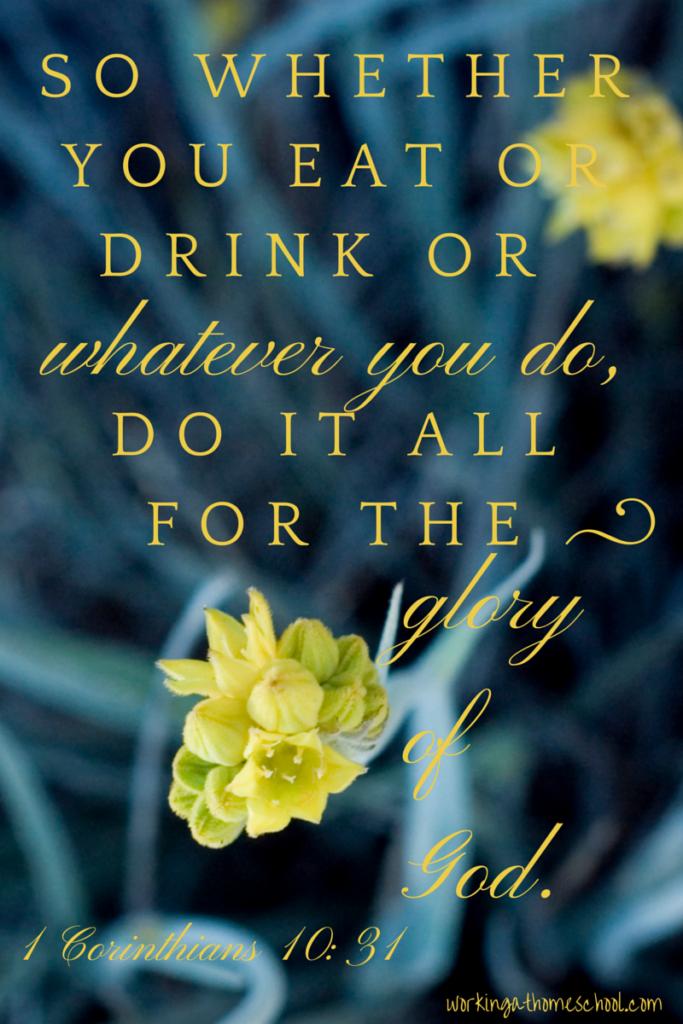 1Corinthians10:31