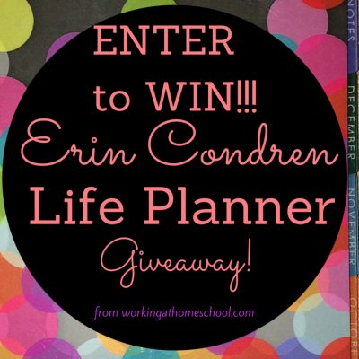 Get organized with a NEW Erin Condren Life Planner!
