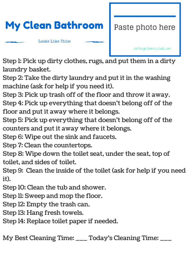 Clean Room Checklists