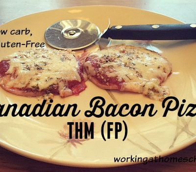 Canadian Bacon Pizza – Trim Healthy Mama FP
