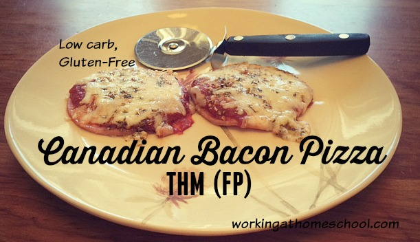 Canadian Bacon Pizza