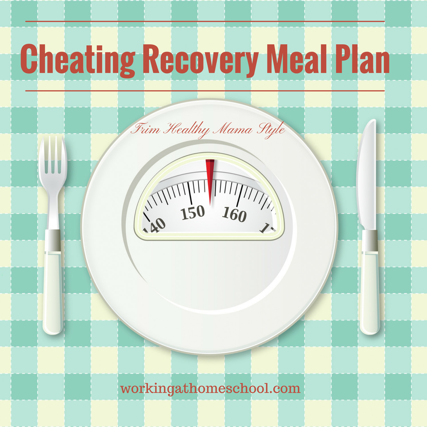 Recover from Cheating – Trim Healthy Mama Style