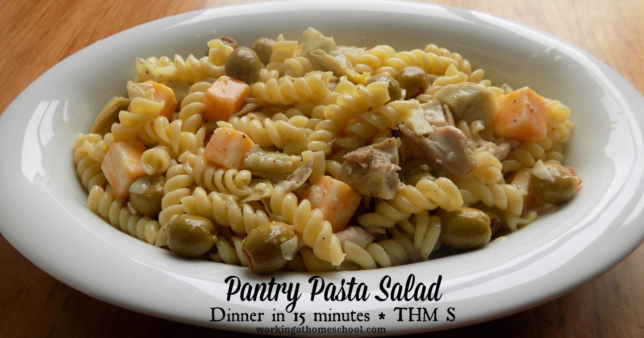 Quick Trim Healthy Mama Pasta Salad