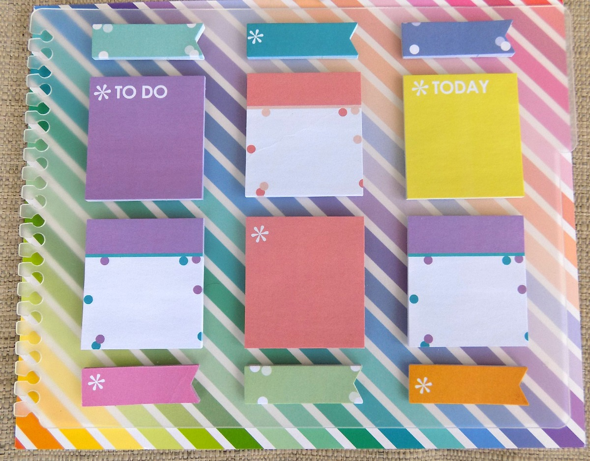 Snap-in StylizedSticky Notes
