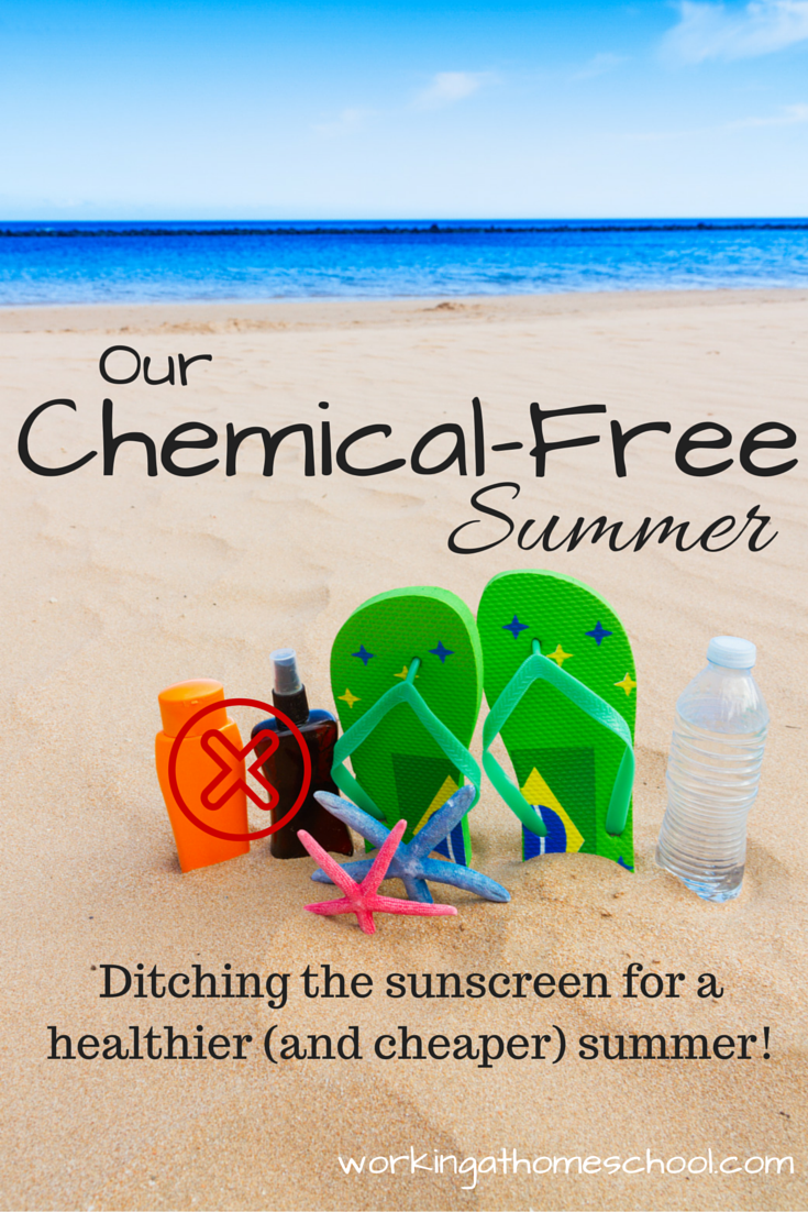 Skipping the Sunscreen for a Chemical-Free Summer