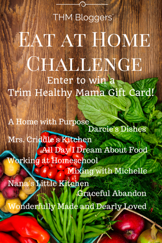 THM eat at home challenge!