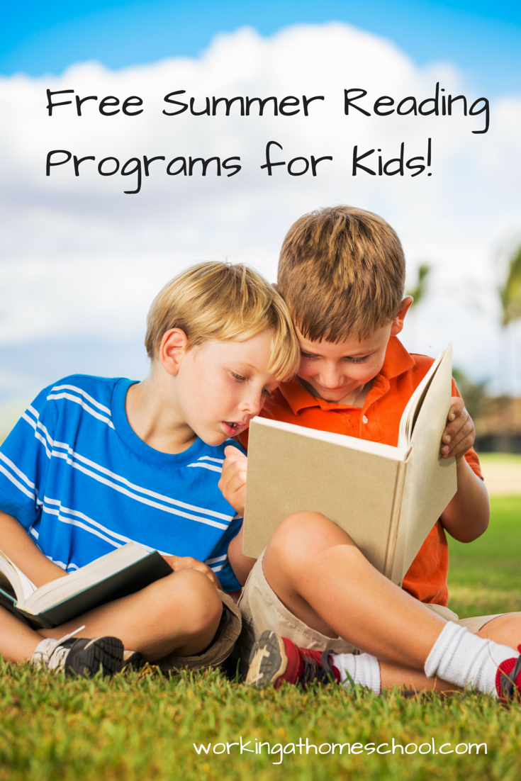 Free Summer Reading Programs for Kids