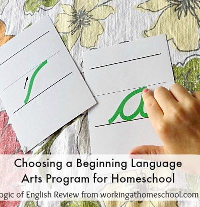 Language Arts Homeschool Curriculum – Logic of English Review