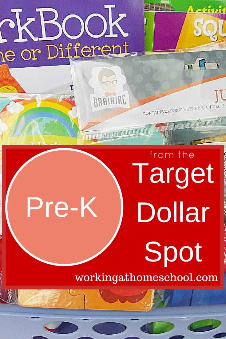 Target Dollar Spot homeschool
