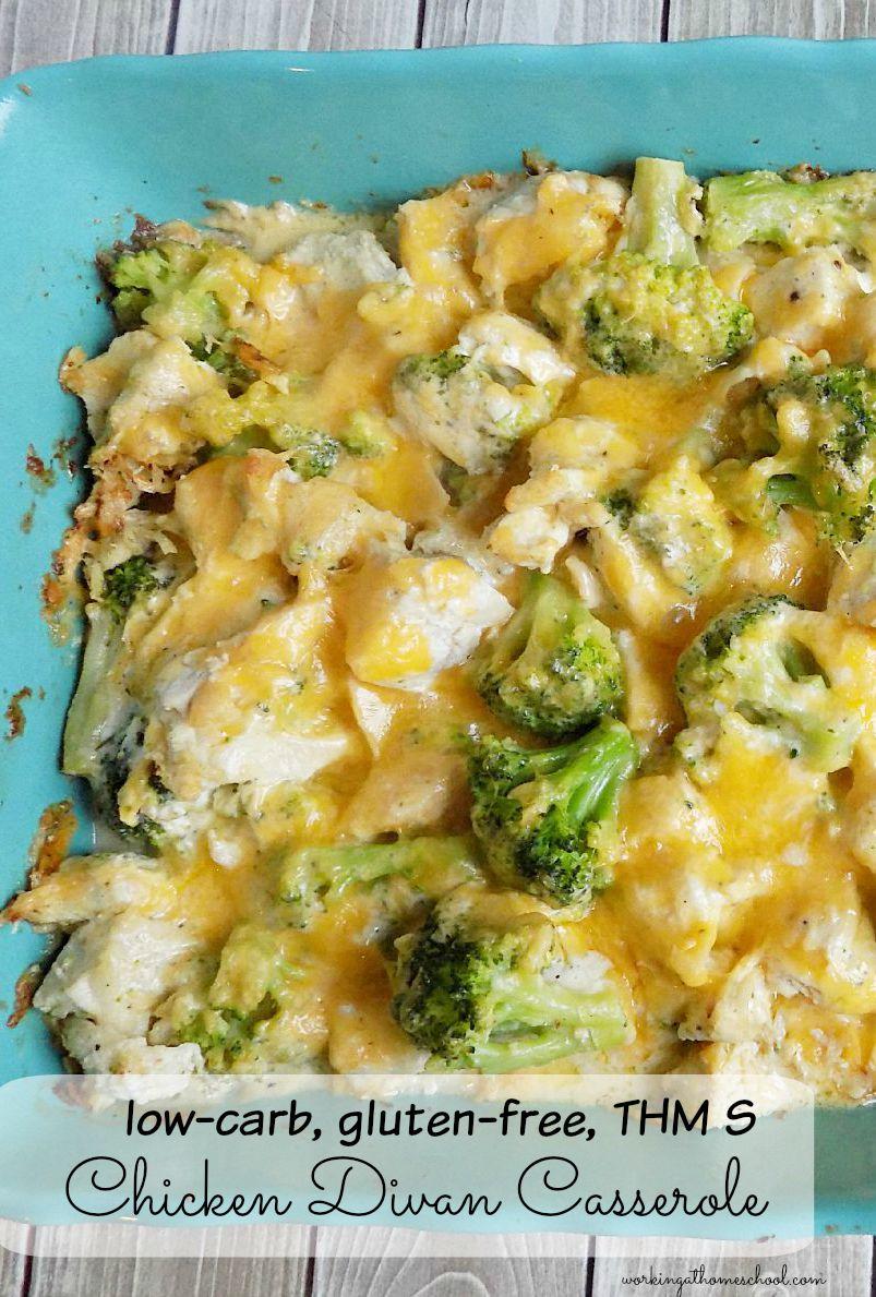 Low carb chicken divan casserole for Divan familial