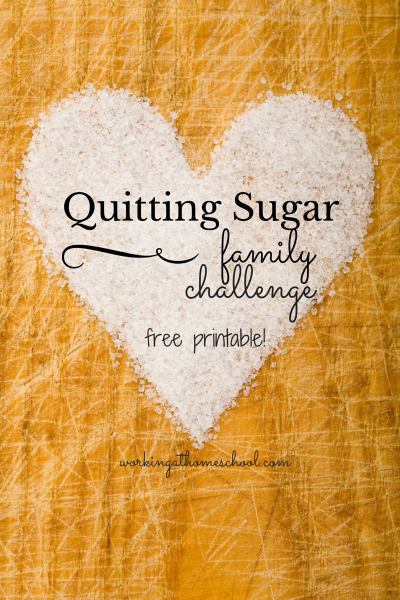Quitting Sugar – Family Challenge!