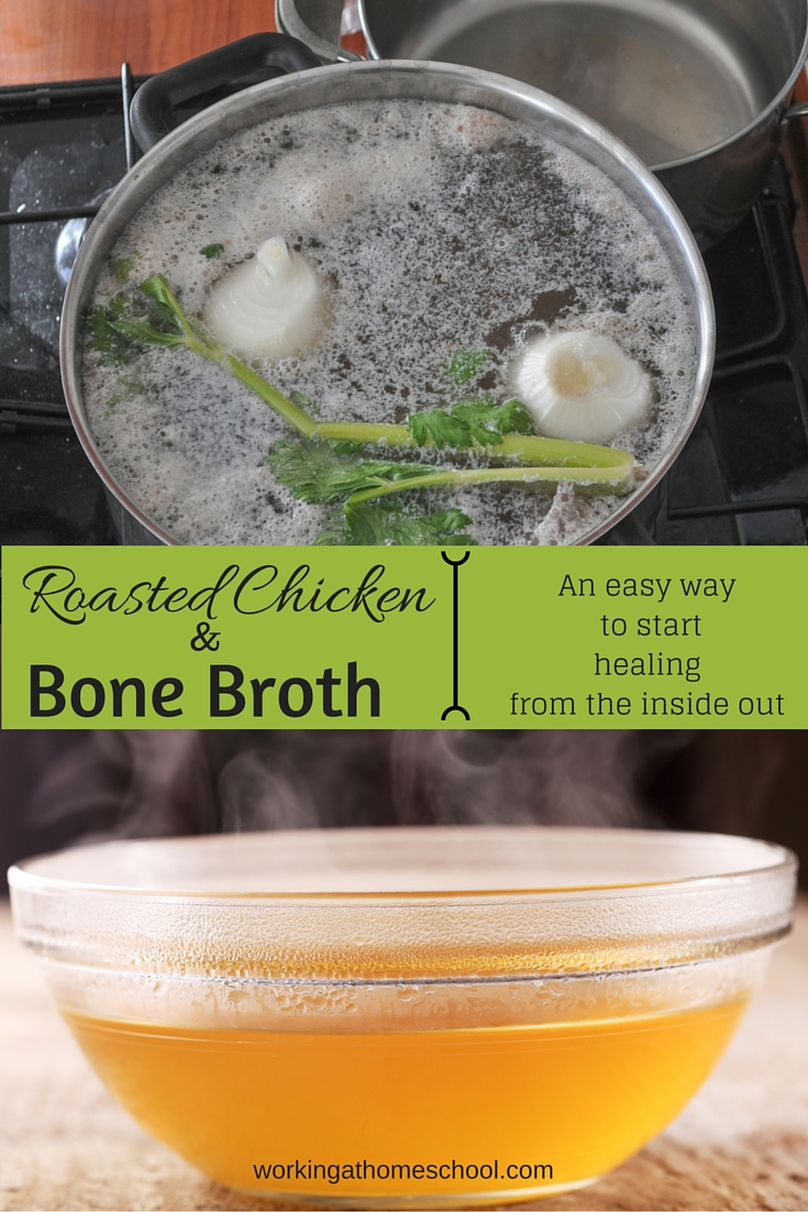 Easy homemade bone broth!