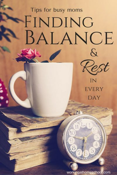Finding Balance and Rest
