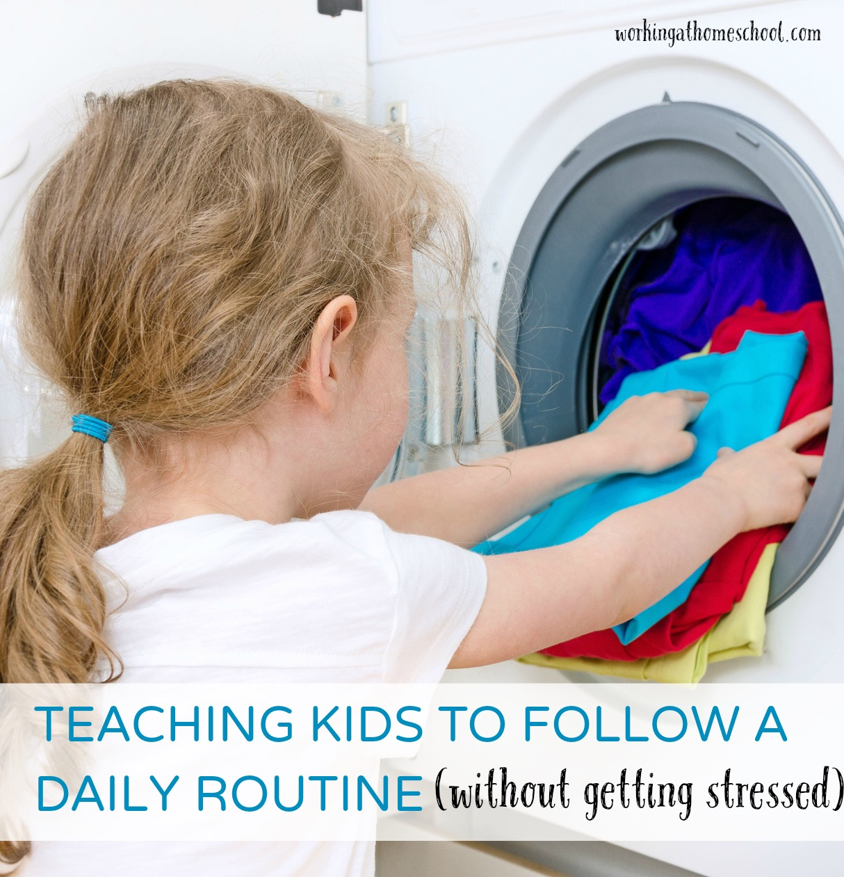 Teaching Kids to Follow a Routine