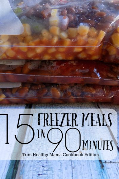 15 Trim Healthy Mama Freezer Meals in 90 Minutes