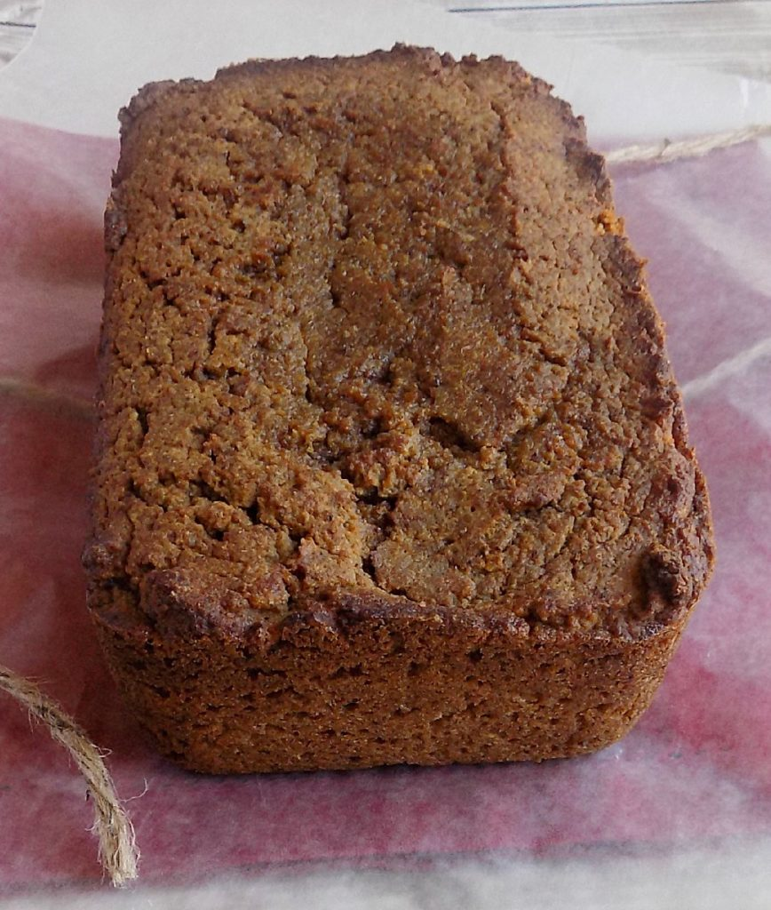 Low carb pumpkin bread - SO GOOD!!!