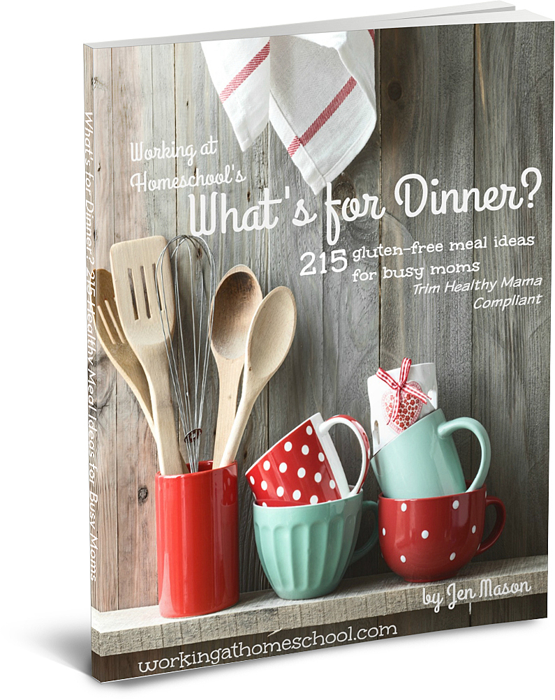 Free ebook - 215 meal ideas!