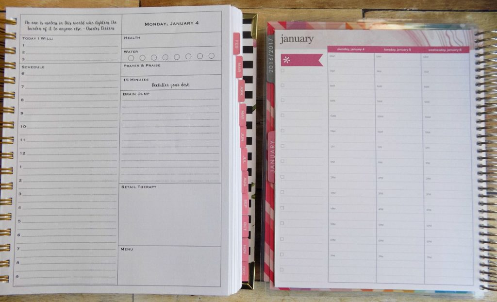 at a glance daily planner 2015