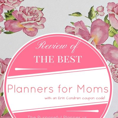 The Purposeful Planner Review vs. Erin Condren's Hourly Planner