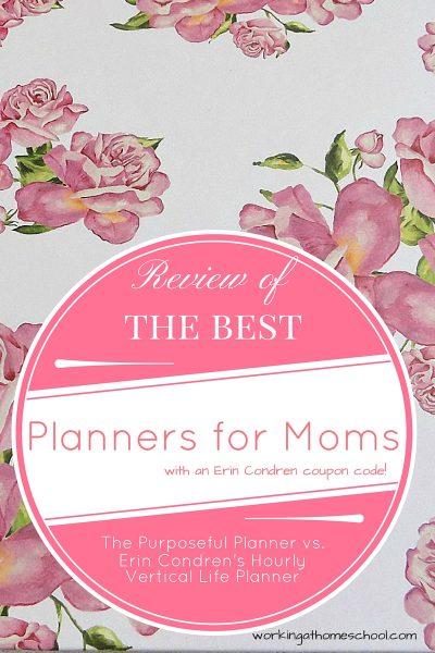The Purposeful Planner Review vs. Erin Condren's Hourly Planner