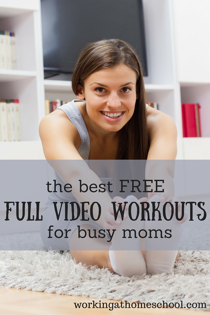 The Best Free Workouts for Busy Moms