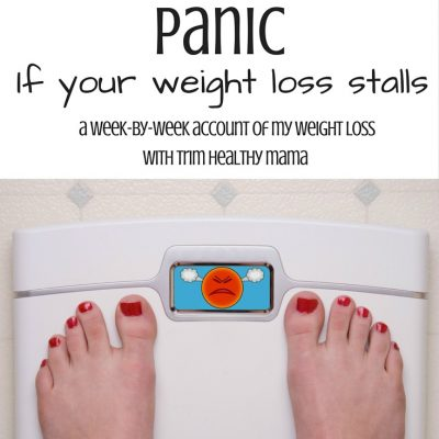 Why you shouldn't panic if you have a weight loss stall