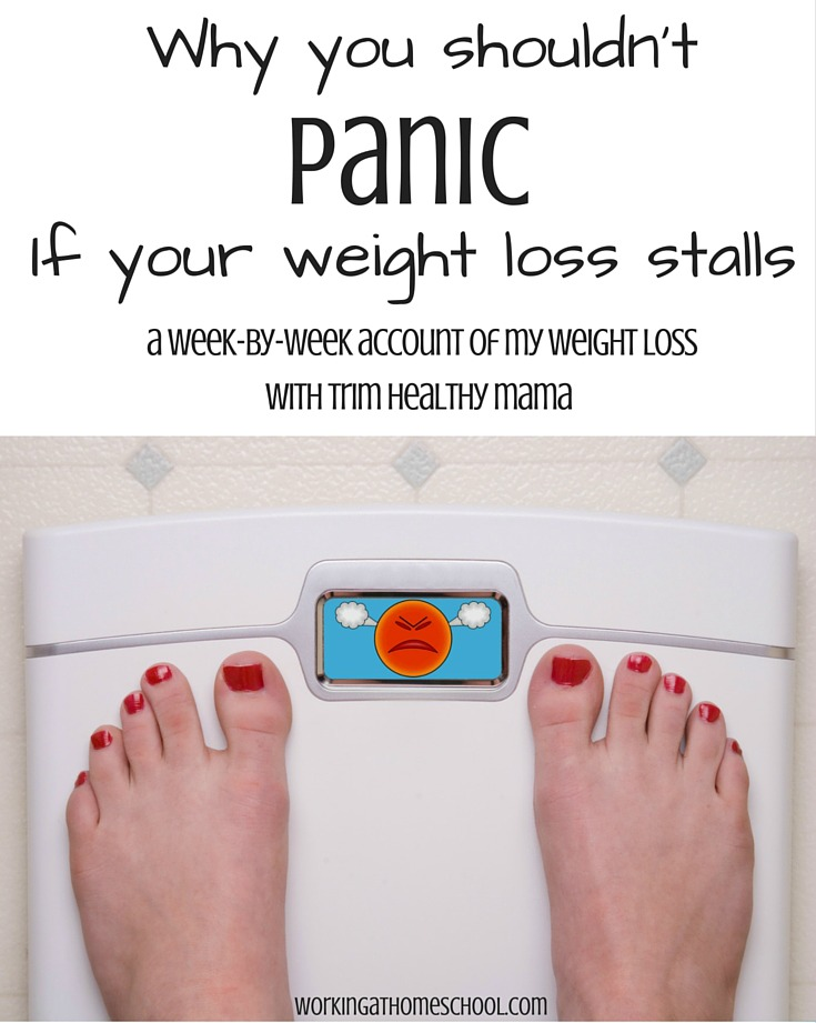 what to do when weight loss stalls