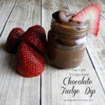 Low-Carb Chocolate Fudge Dip