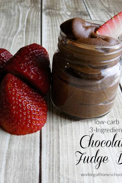 Low-Carb Chocolate Fudge Dip