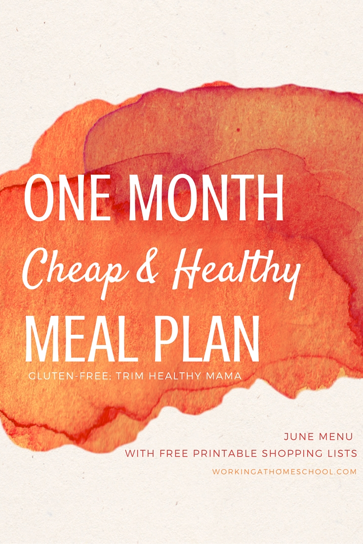 It is an image of Tactueux Trim Healthy Mama Meal Plan