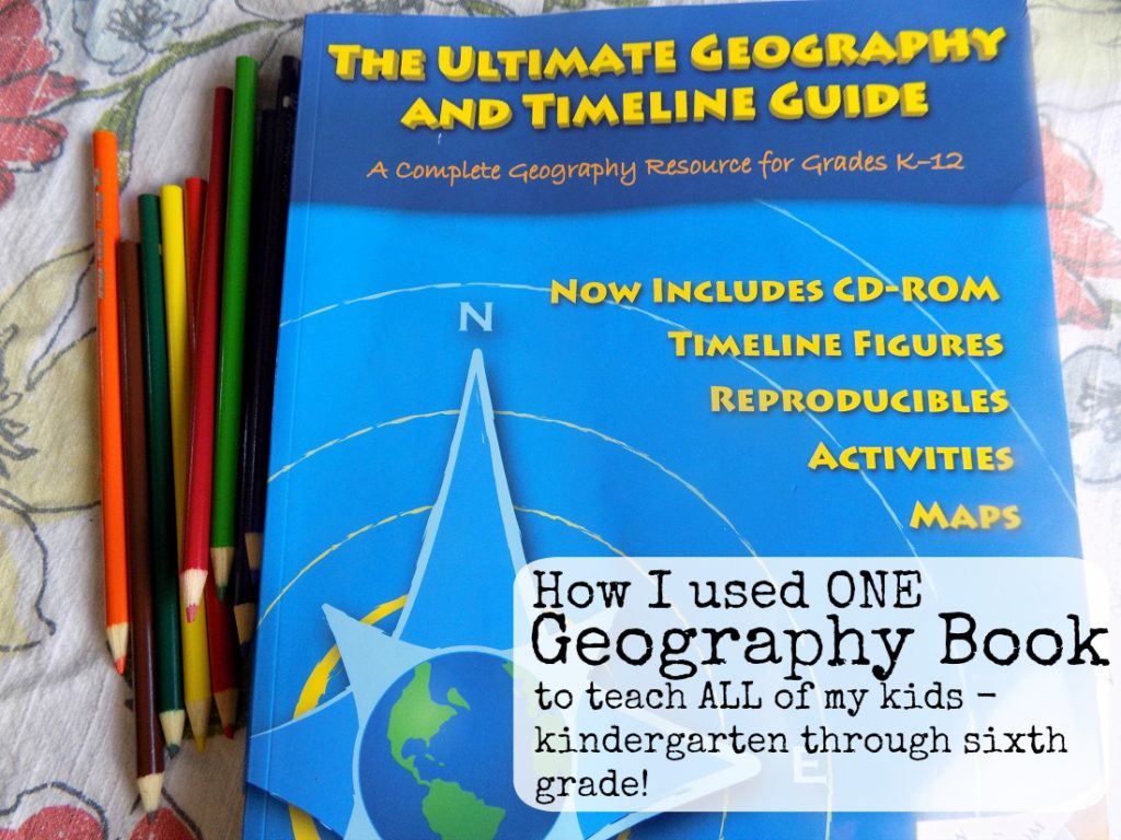 One geography book to teach multiple ages