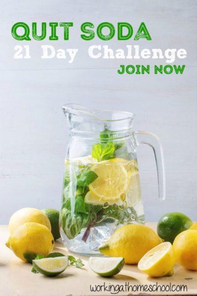 Quit Soda – 21 Day Challenge