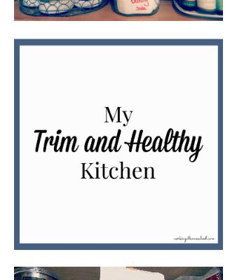 A peek inside my Trim Healthy Kitchen