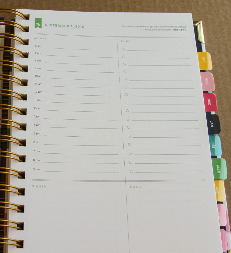 The Simplified Planner - gorgeous, simple, and perfect for people who don't like clutter!