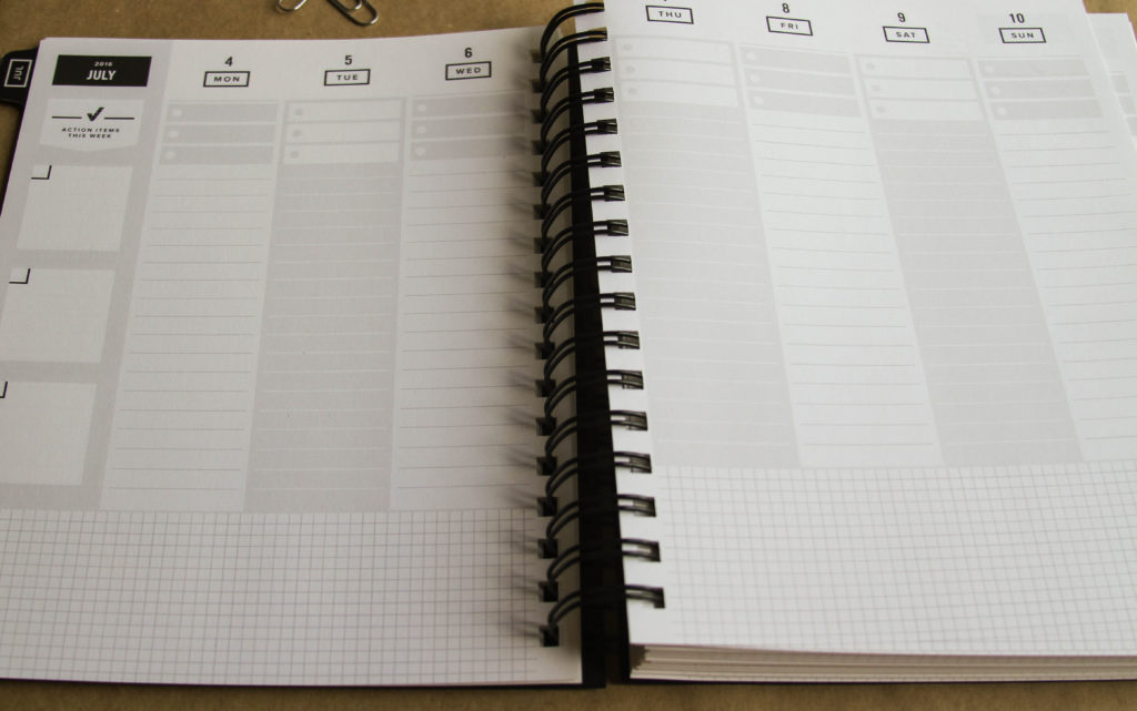 The Get to Work Planner - this looks like it's perfect for goal setting and getting things done.