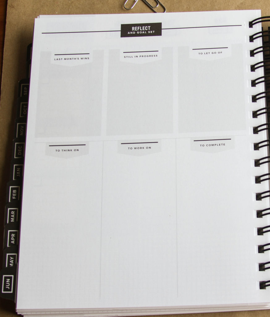 The Get to Work Book - this looks like it's perfect for goal setting and getting things done.