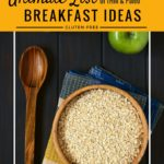 A BIG list of breakfast ideas for THM and Paleo fans! I really needed a go-to list for Trim Healthy Mama; this is so helpful!