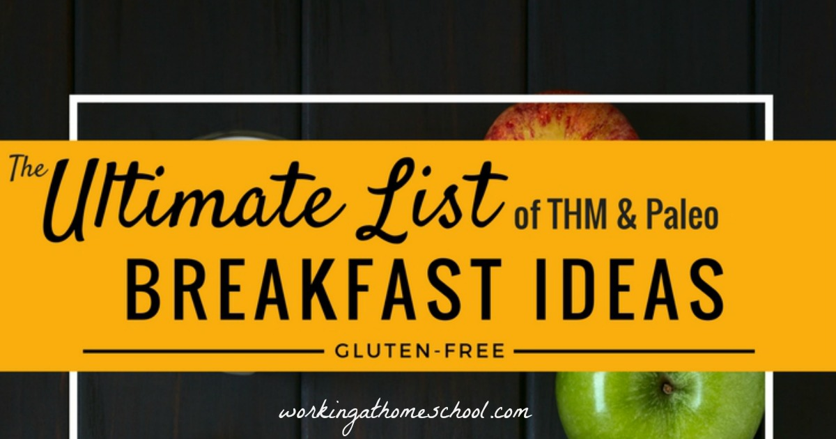 The Ultimate List of Trim Healthy Mama Breakfast Ideas