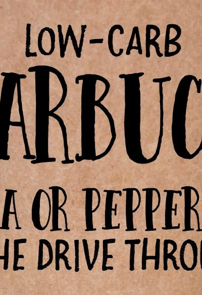 Low-Carb Starbucks Hack