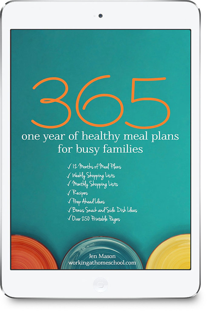 365: One Year of Healthy Meal Plans for Busy Families ...
